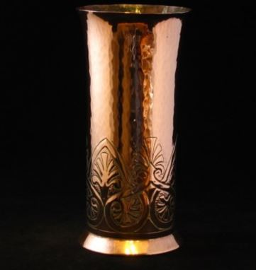 Keswick School Of Industrial Arts Copper Vase Solo Antiques