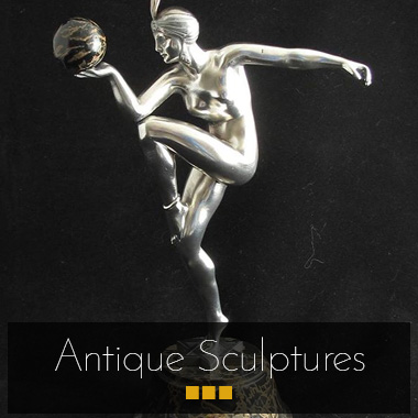 Antique sculptures