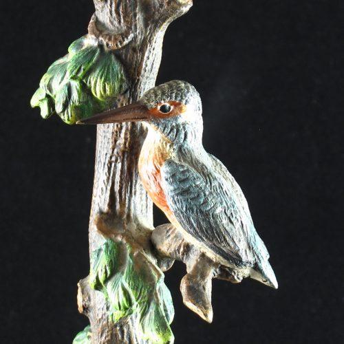 Austruan bronze kingfisher lamp