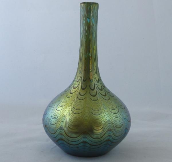 Loetz Phanomen Vase Solo Antiques