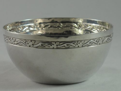 Arts and Crafts silver bowl