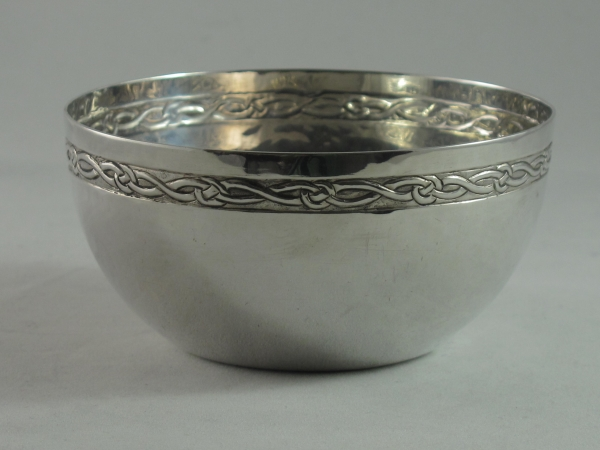 Birmingham Guild of Handicrafts Arts and Crafts silver bowl