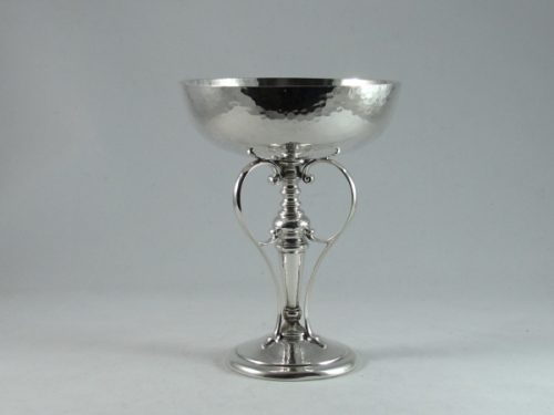 Arts and Crafts English silver Tazza