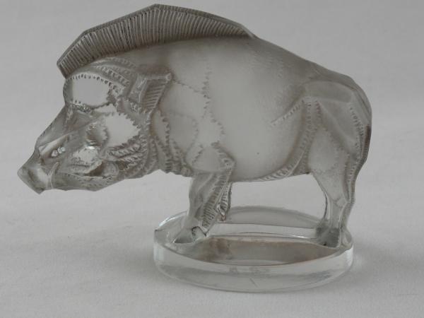 Art Deco Rene Lalique glass car mascot