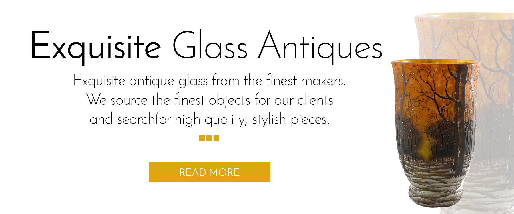 Glass antiques