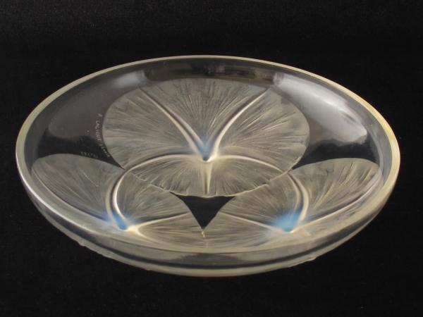 Rene Lalique Art deco glass volubilis bowl