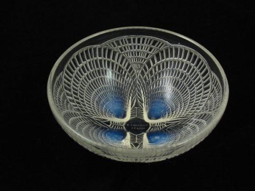 Rene Lalique Art Deco glass bowl