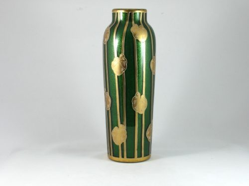 Art Nouveau glass vase