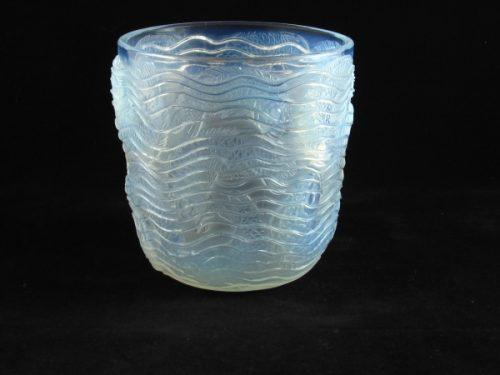 Rene Lalique Dolphins vase