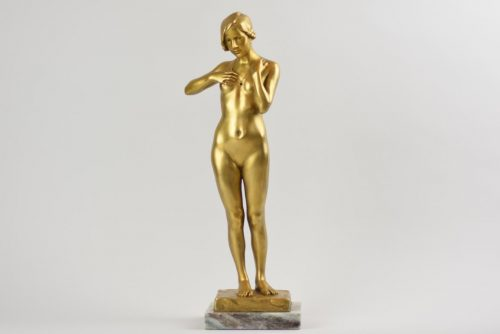 Art Deco bronze figurine